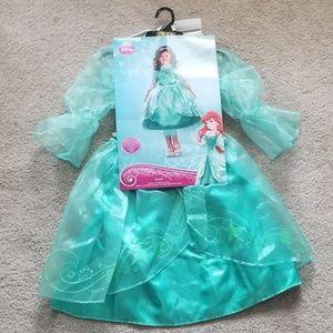 NWT Disney's Arial Costume; Sz S 4-6X